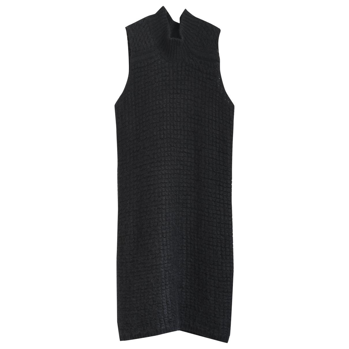 Rick Owens \N Kleid in  Schwarz Wolle