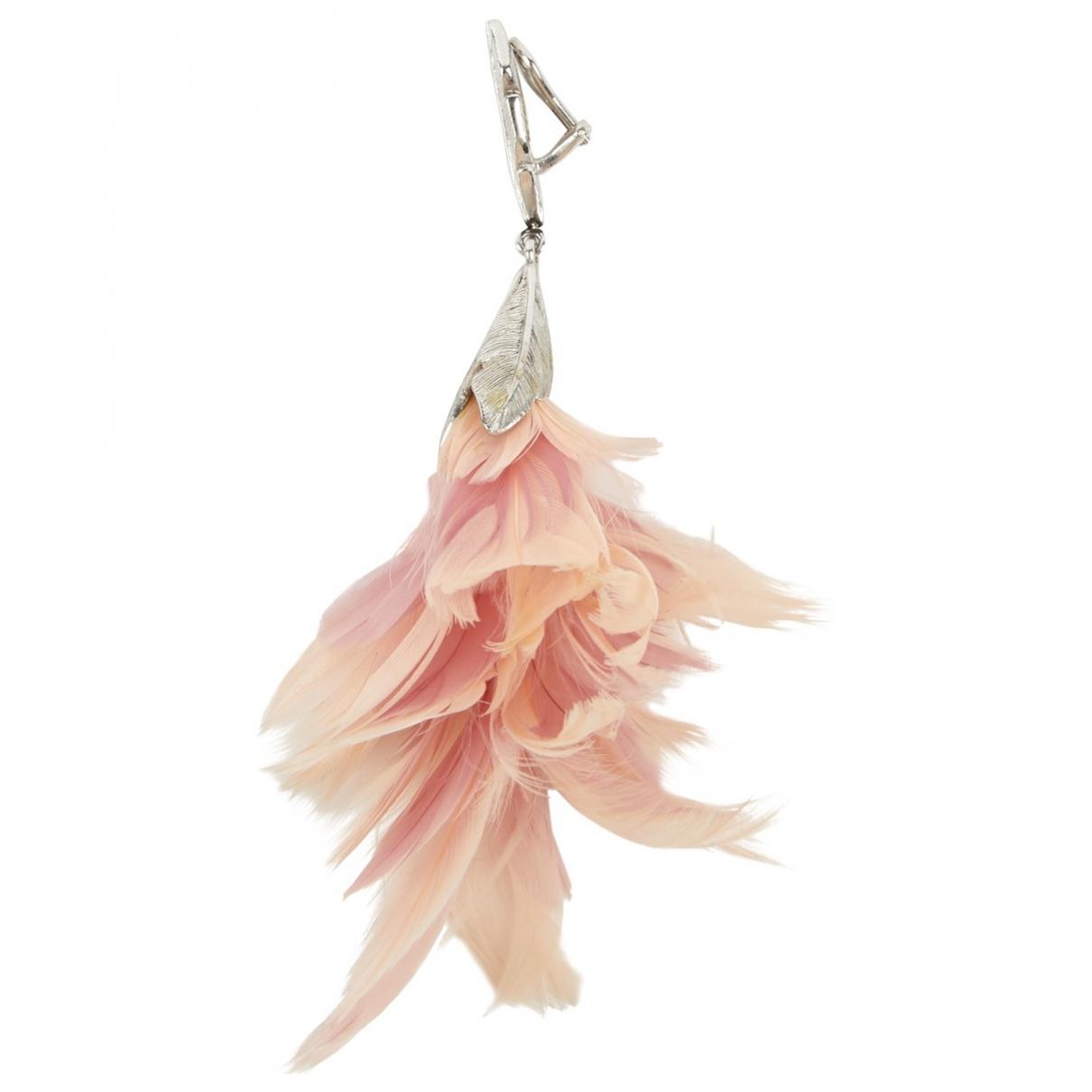 Dior \N OhrRing in  Rosa Metall