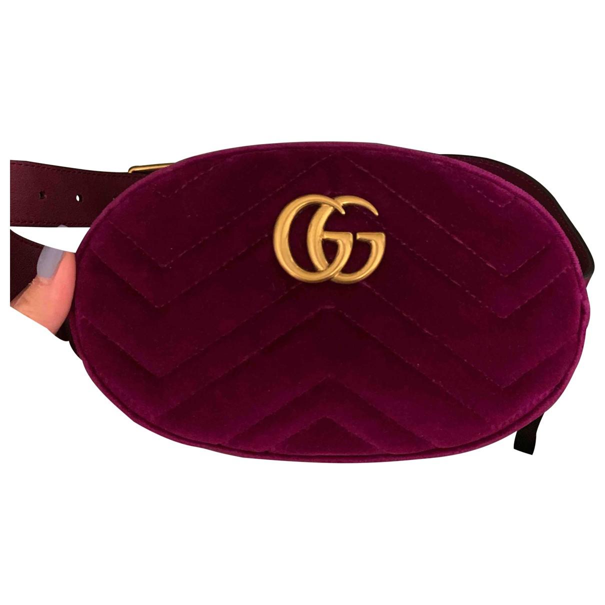 Pochette Marmont de Terciopelo Gucci