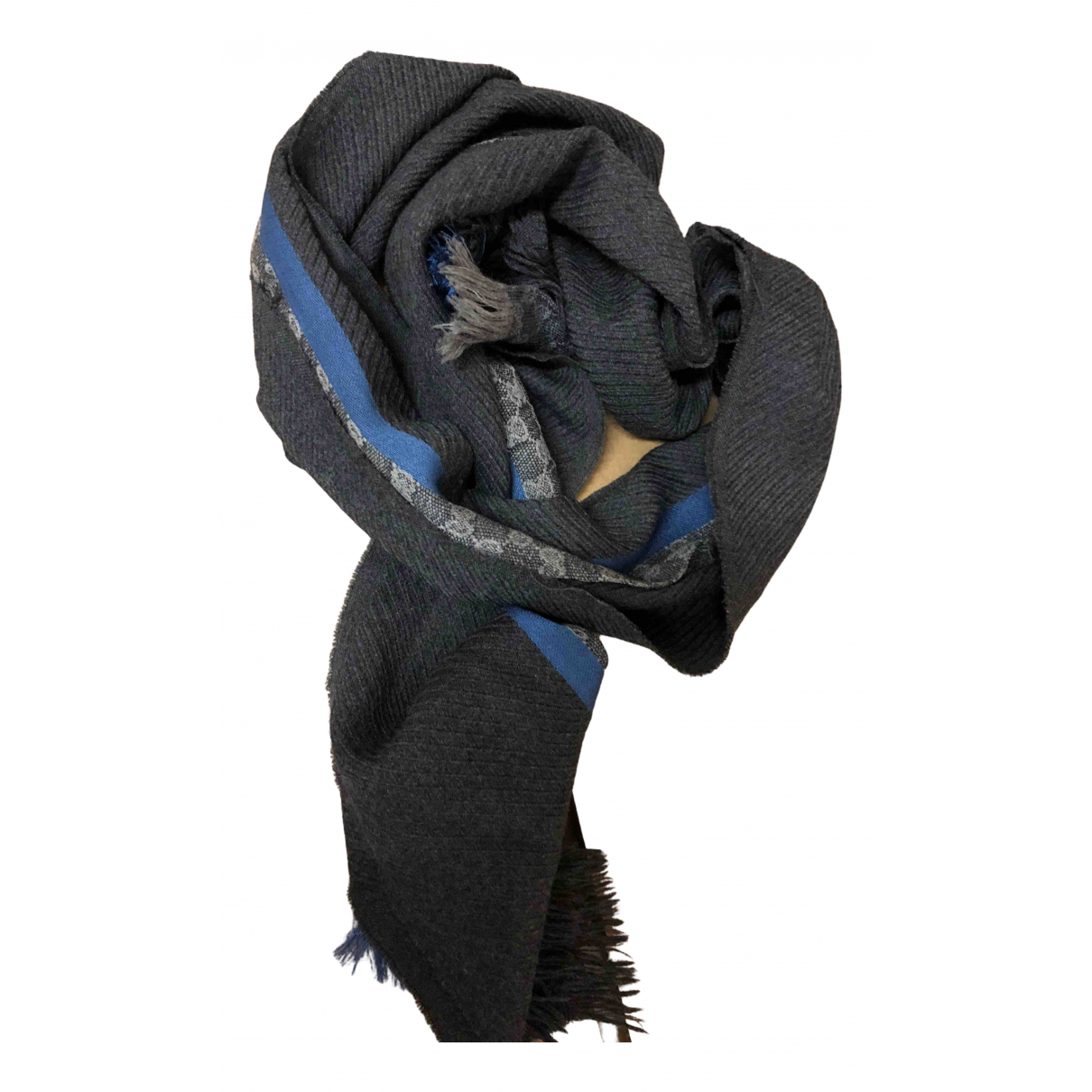 Gucci N Grey Wool scarf & pocket squares for Men N
