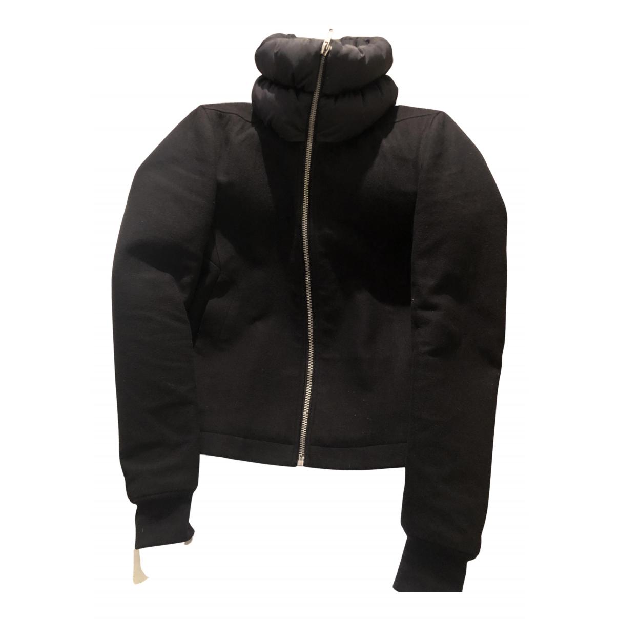 Rick Owens - Manteau   pour homme en laine - noir