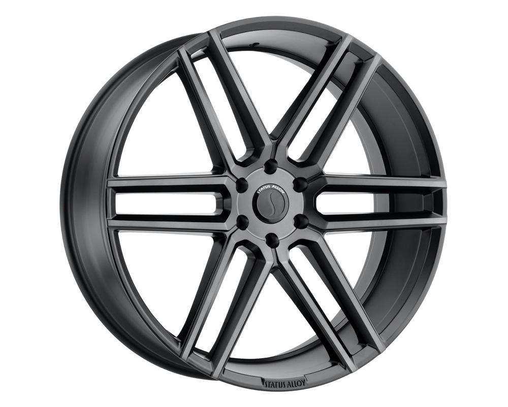 Status Titan Wheel 22x9.5 5x120 30mm Carbon Graphite