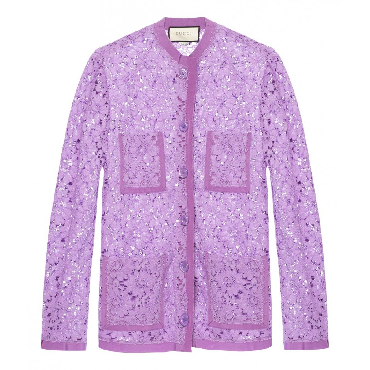 Gucci - Pull   pour femme - violet