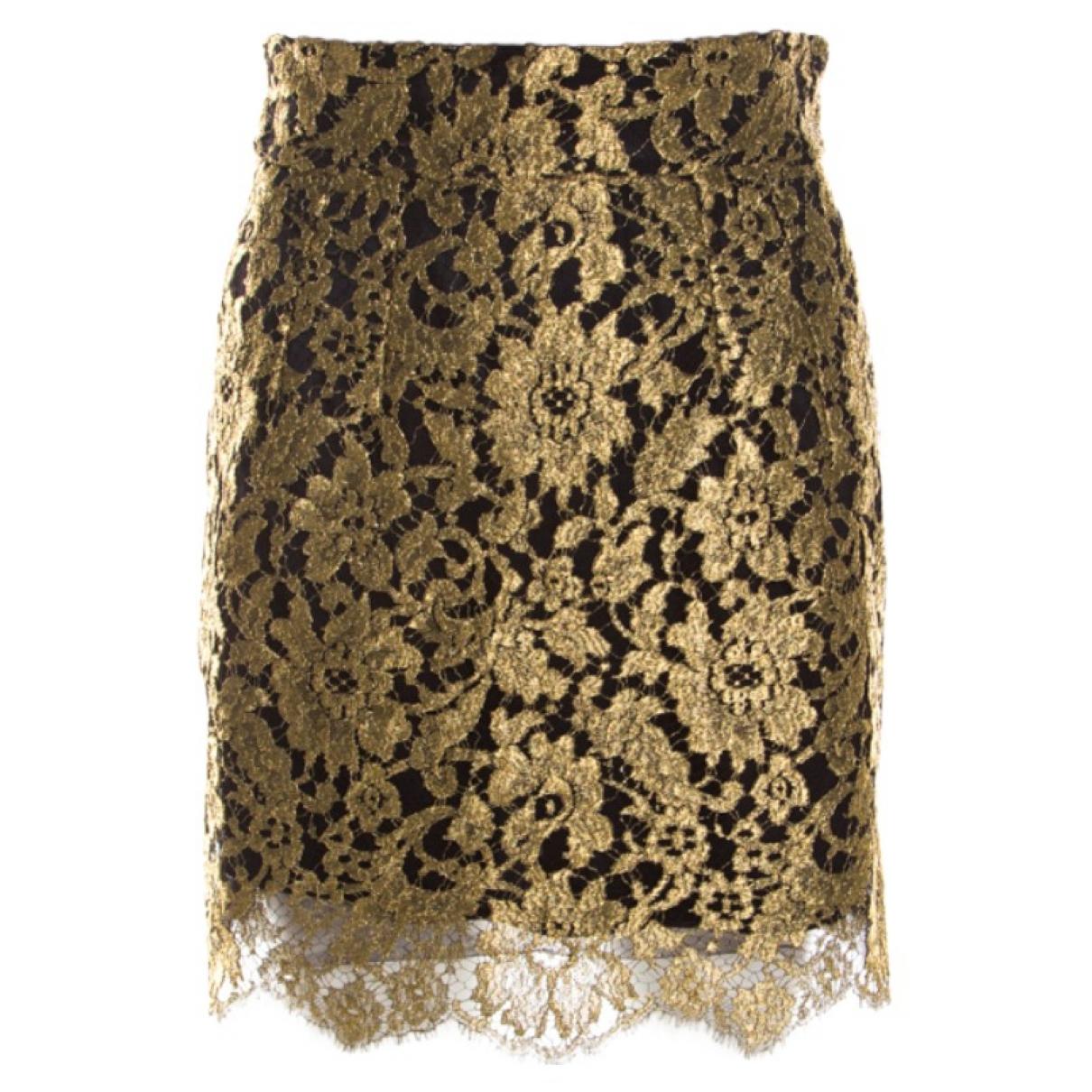 Dolce & Gabbana \N Rocke in  Gold Seide