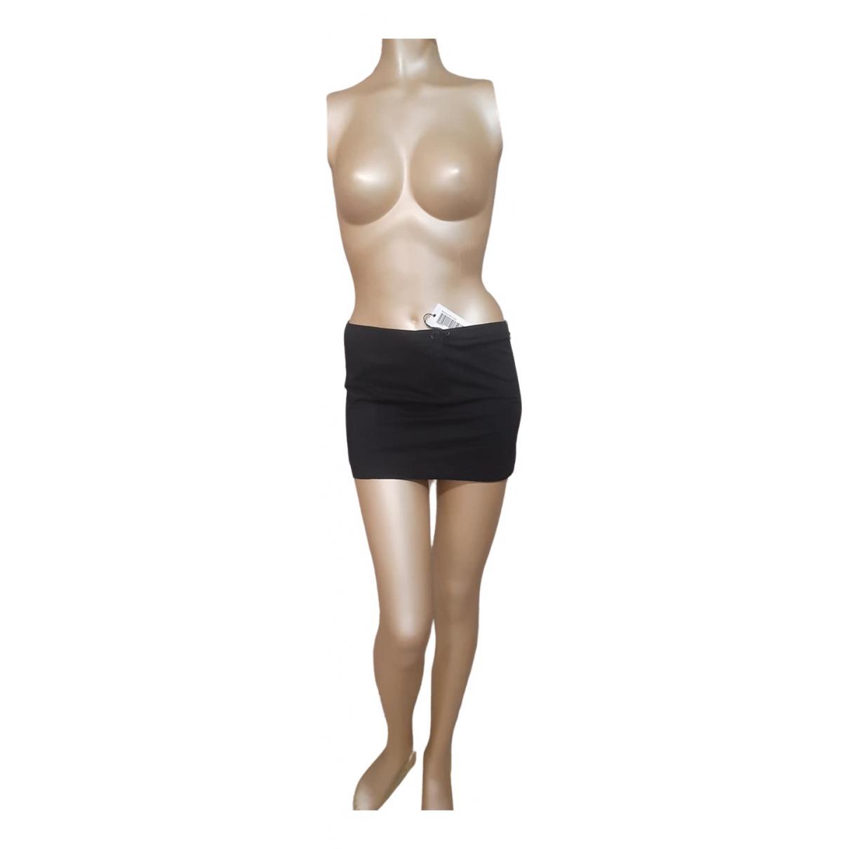 Patrizia Pepe - Jupe   pour femme en coton - noir