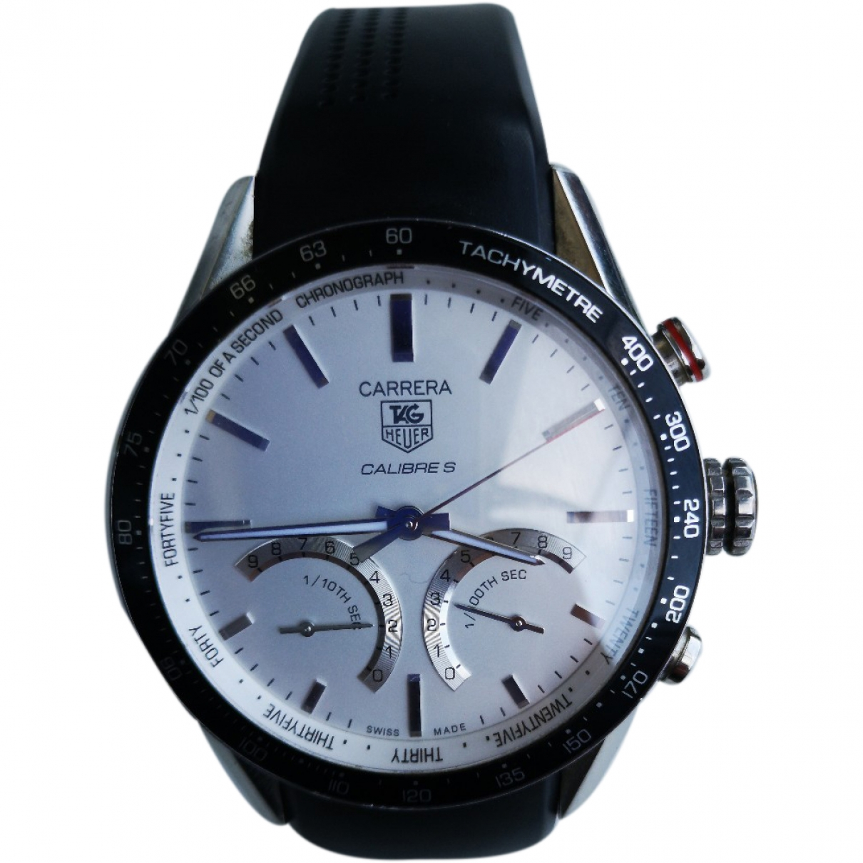 Tag Heuer Carrera Silver Steel watch for Men \N