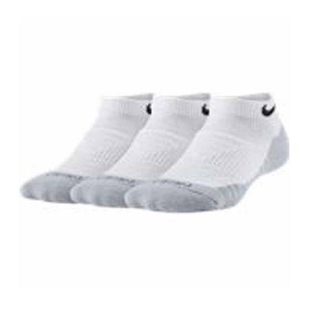 Nike Big Boys 3 Pair No Show Socks, 7-8.5 , White