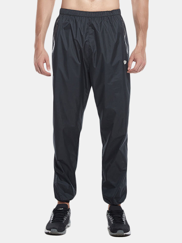 Men Casual Elastic Waist Slim Fit Fitness Jogging Trousers Sport Pants