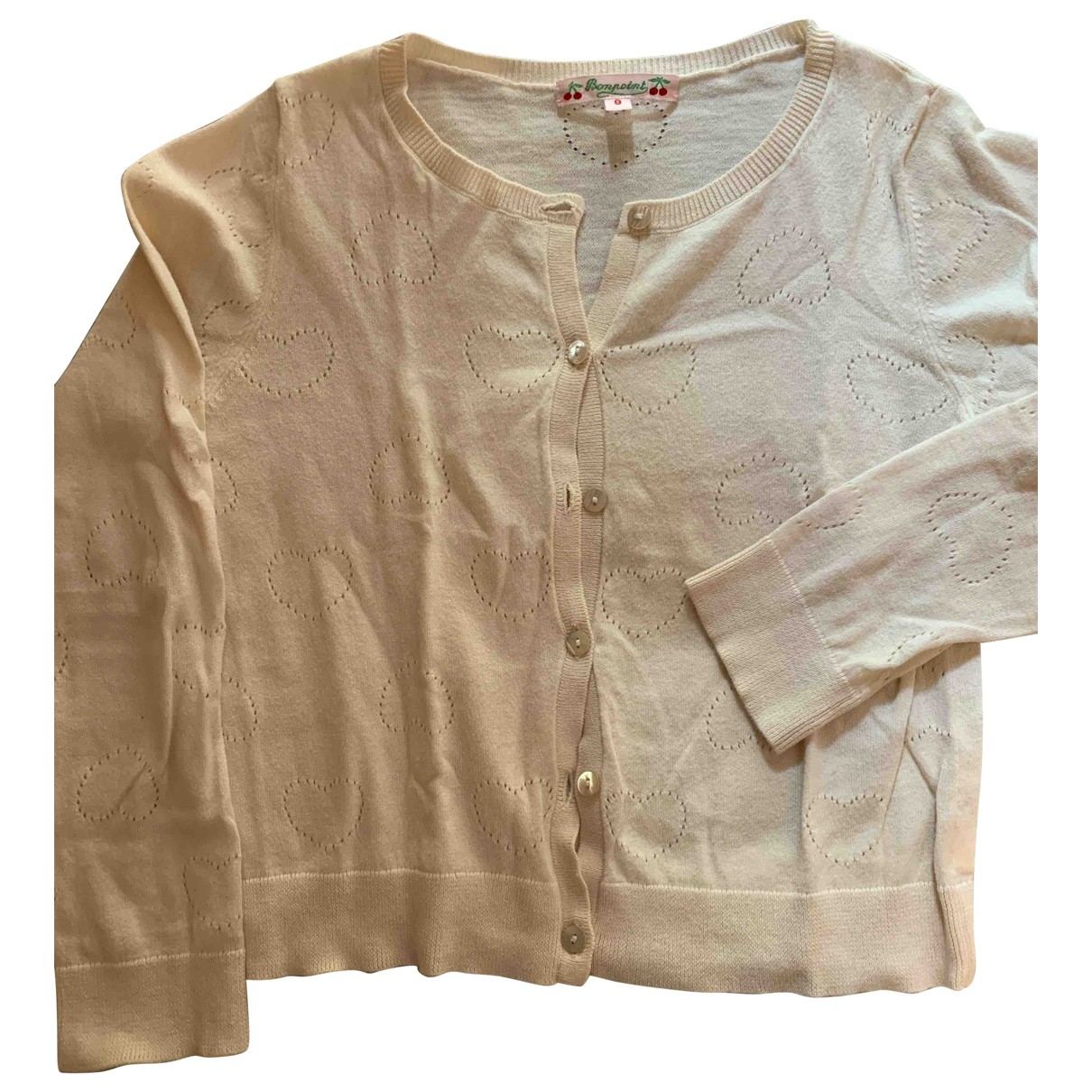 Bonpoint \N Beige Cotton Knitwear for Kids 8 years - up to 128cm FR