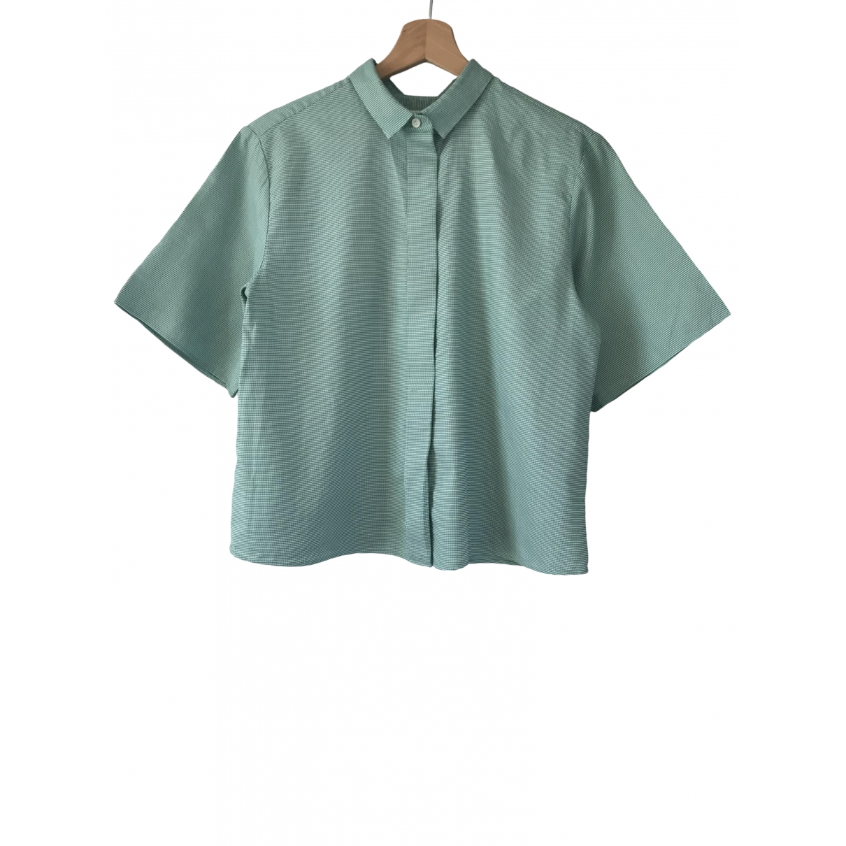 Cos \N Green Cotton  top for Women 36 FR