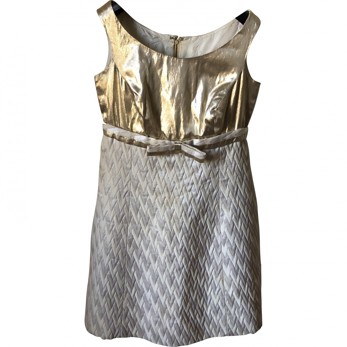 Non Signé / Unsigned \N Cotton - elasthane dress for Women 40 IT