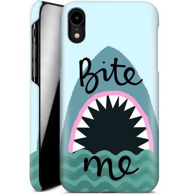 Apple iPhone XR Smartphone Huelle - Bite Me von caseable Designs