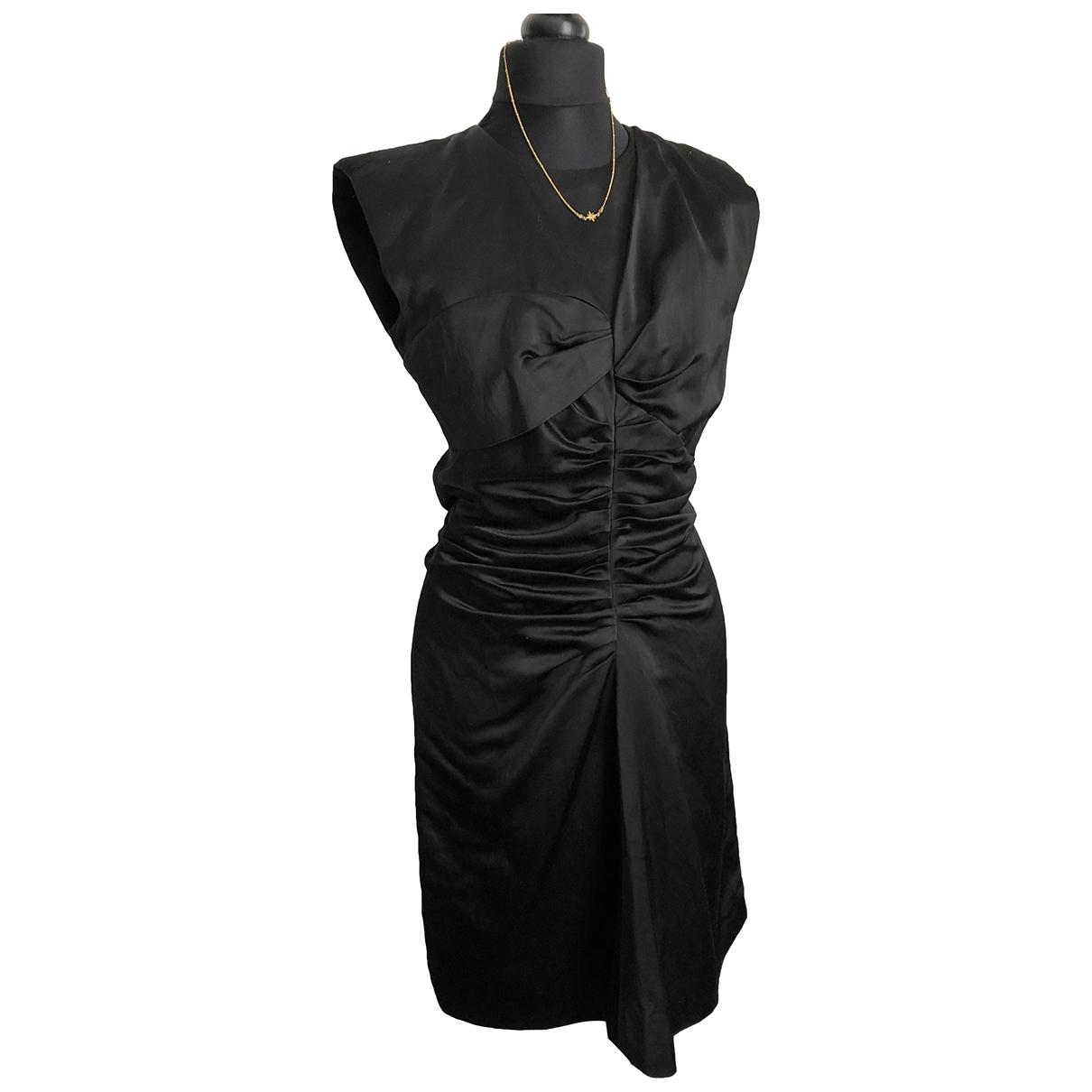 Isabel Marant \N Kleid in  Schwarz Viskose
