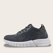 Wide Fit Lace-up Front Sneakers