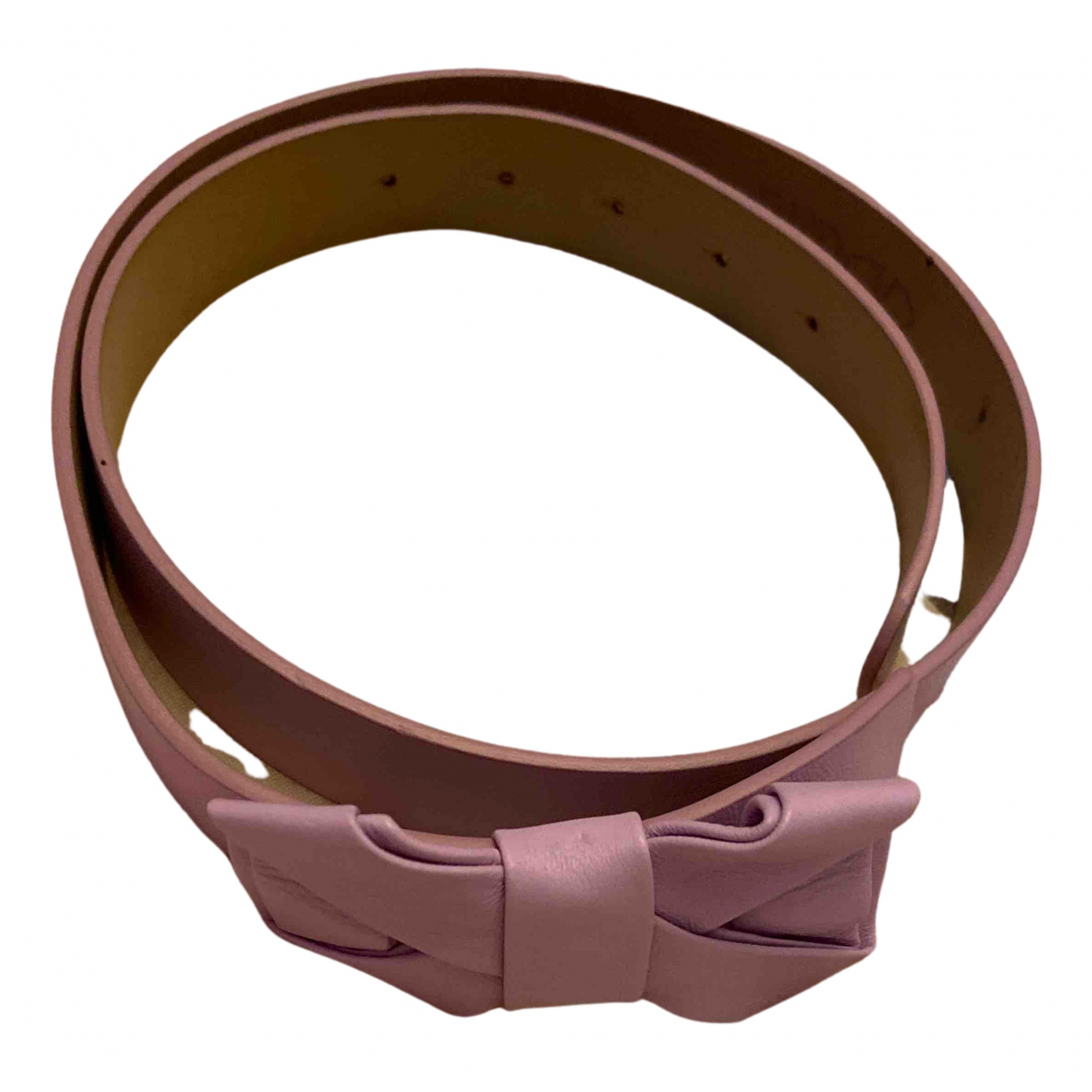 Cinturon de Cuero Red Valentino Garavani