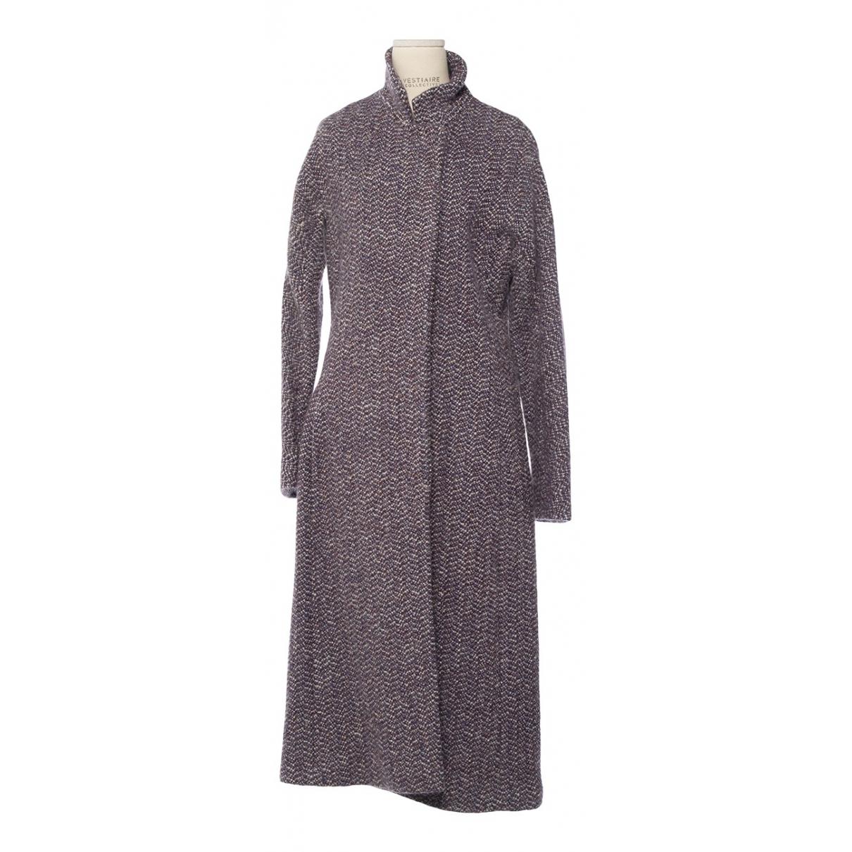 Dries Van Noten - Manteau   pour femme en coton - violet