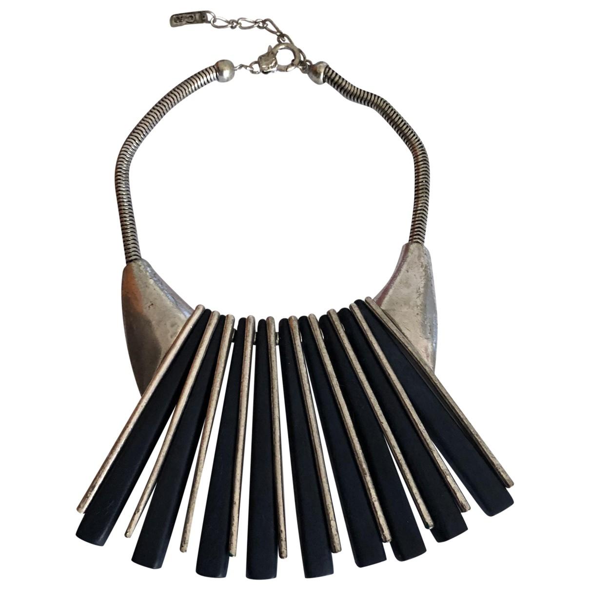 - Collier Motifs Ethniques pour femme en metal - multicolore