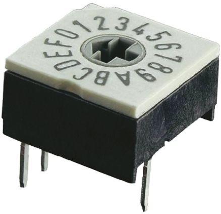 Hartmann 4+1 footprint-horizontal BCD switch
