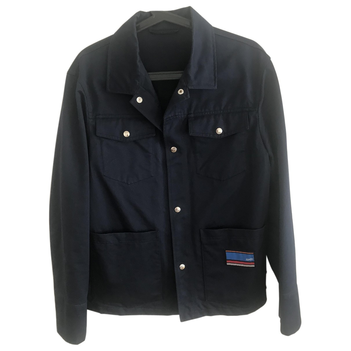 Kenzo N Navy Cotton jacket  for Men S International