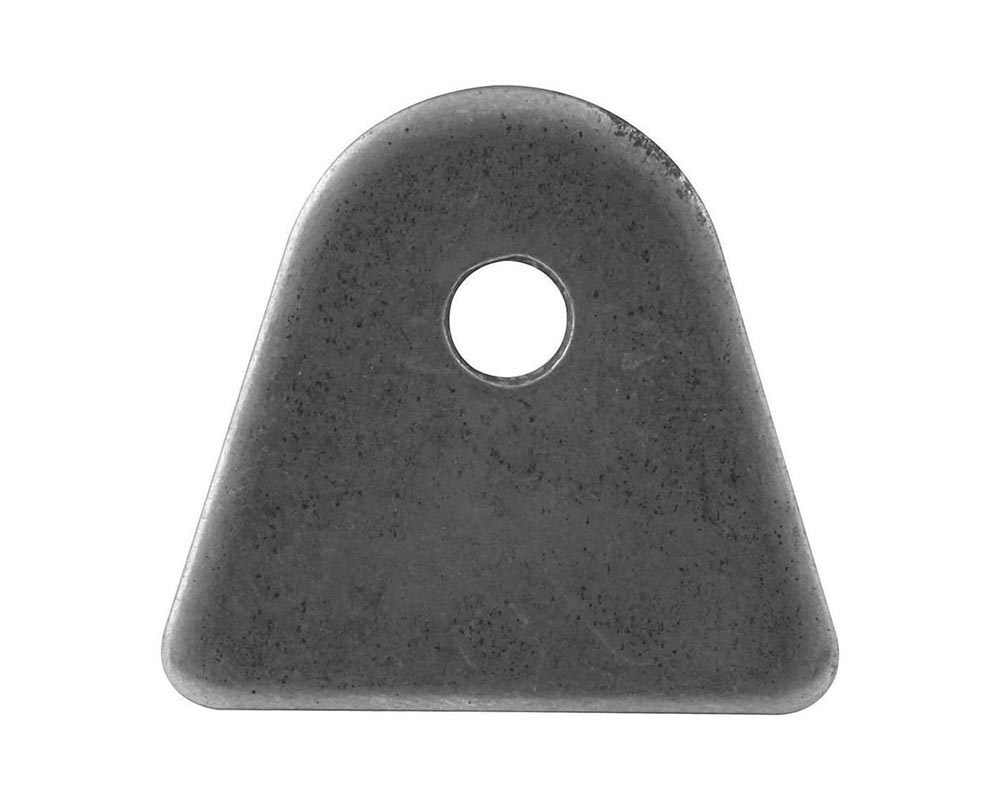 Allstar Performance ALL60012 1/8in Flat Tabs 4pk 1/4in Hole ALL60012