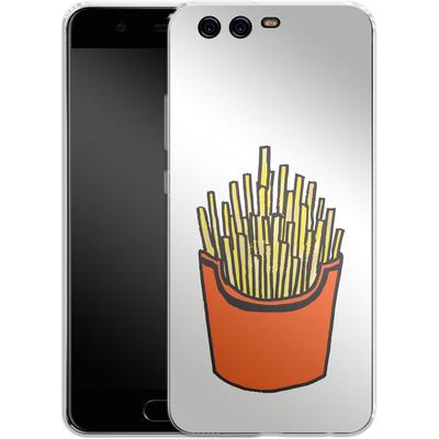Huawei P10 Silikon Handyhuelle - Fries von caseable Designs