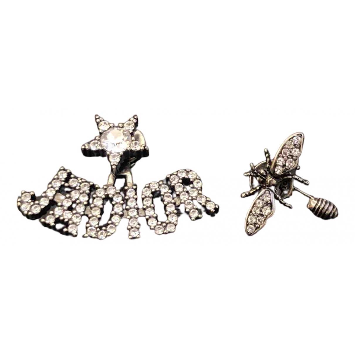 Christian Dior \N Silver Metal Earrings for Women \N