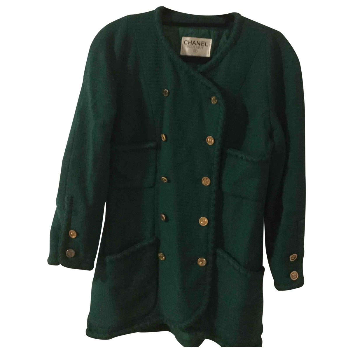 Chanel \N Green Cotton jacket for Women 38 FR