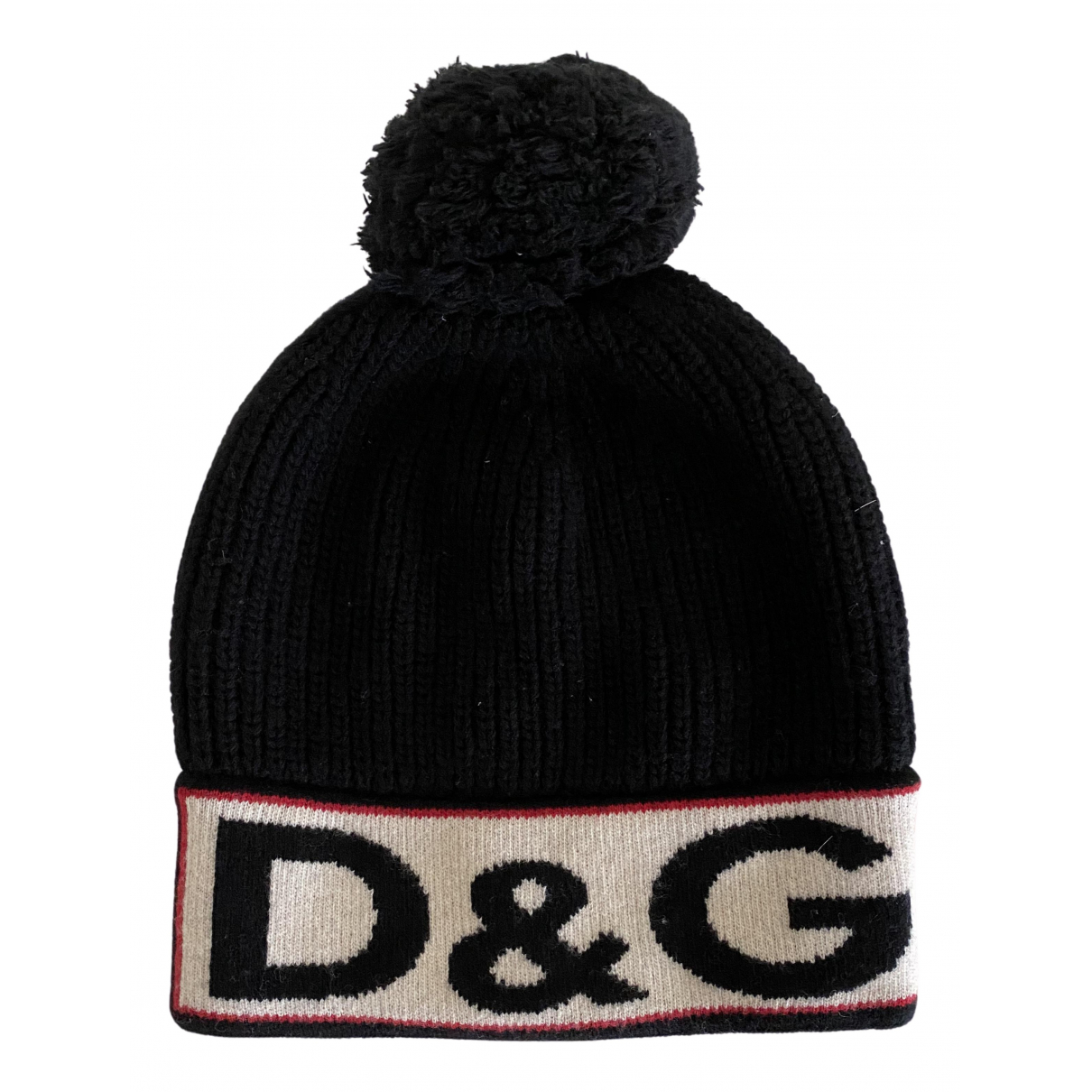 Dolce & Gabbana N Black Wool hat for Women M International