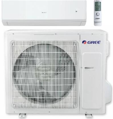 SAP24HP230V1A Sapphire Wall Mount Single Zone Mini Split System with 24000 Cooling and Heat Pump BTU  Energy Star  Copper/Aluminum with Gold Fin