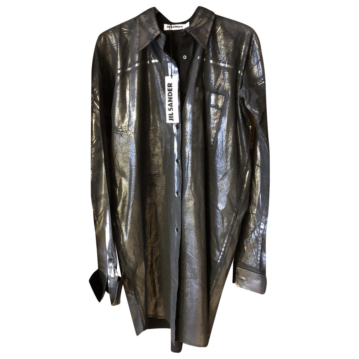 Jil Sander \N Grey Cotton  top for Women 40 IT