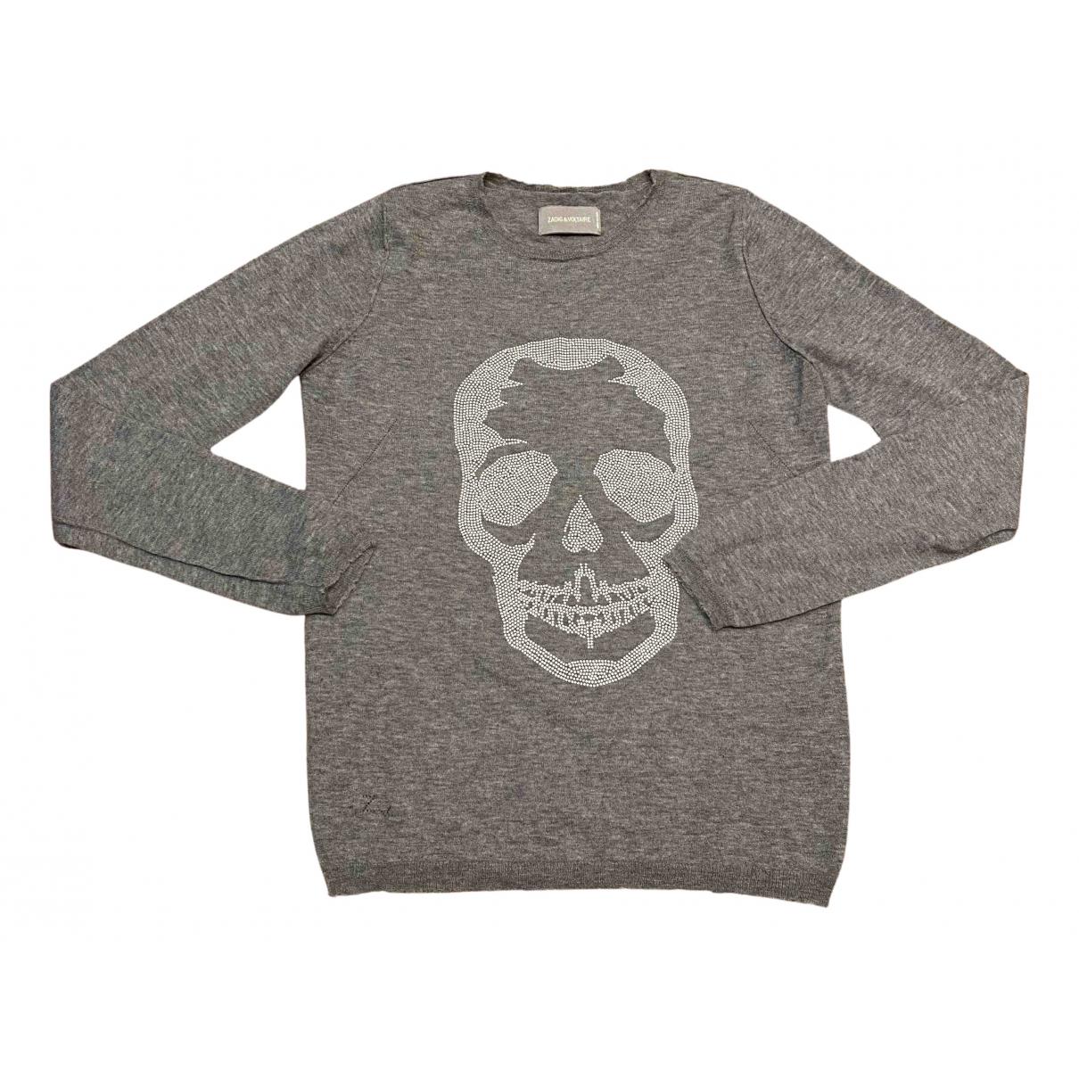 Zadig & Voltaire N Grey Cashmere Knitwear for Women S International