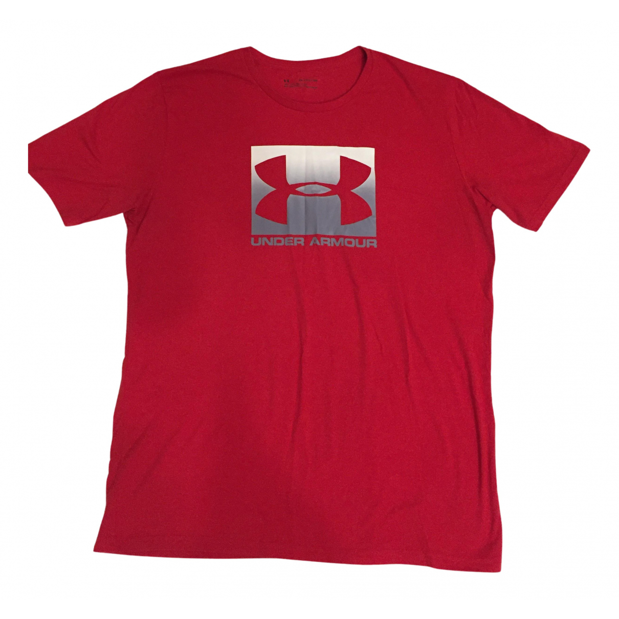 Under Armour N Red Cotton T-shirts for Men XXL International