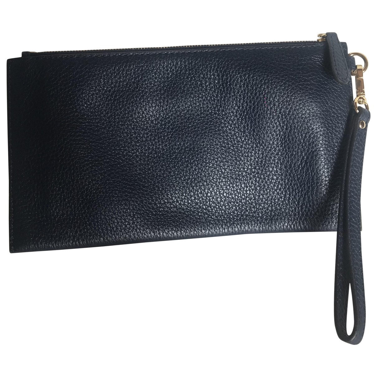 Michael Kors \N Clutch in  Marine Leder