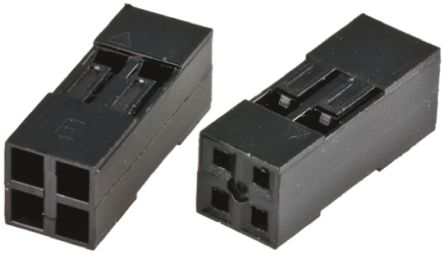HARWIN , M20-10 Female Connector Housing, 2.54mm Pitch, 24 Way, 2 Row (10)