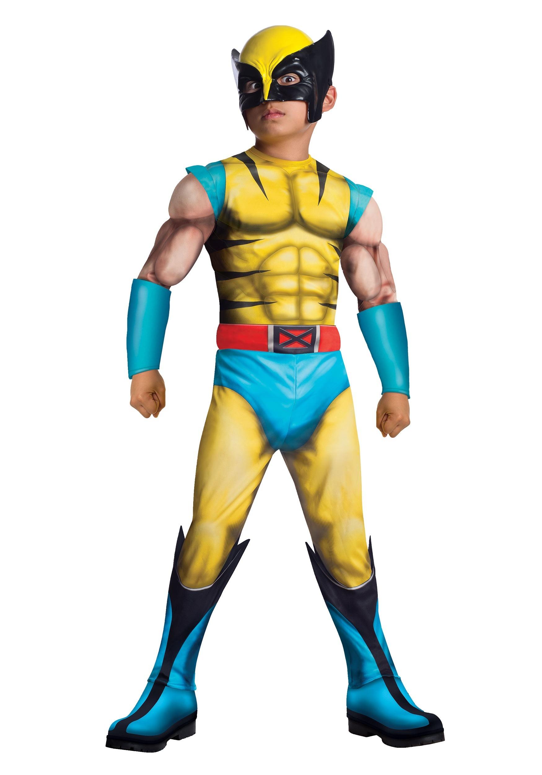 Deluxe Wolverine Kids Costume