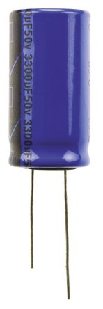 Vishay 3300μF Electrolytic Capacitor 50V dc, Through Hole - MAL203851332E3 (5)