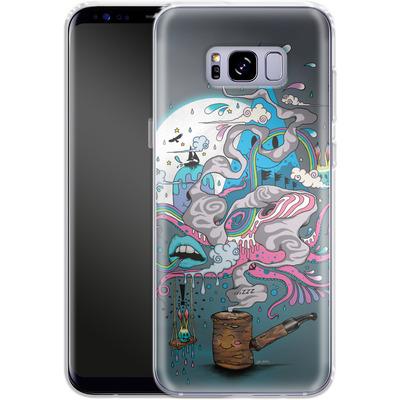 Samsung Galaxy S8 Plus Silikon Handyhuelle - Pipe Dreams von Mat Miller