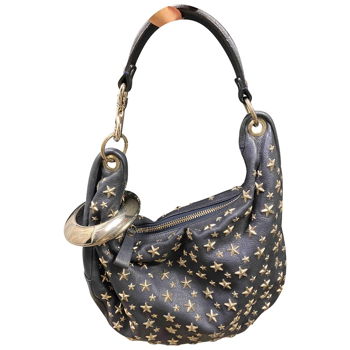 Jimmy Choo \N Blue Leather handbag for Women \N