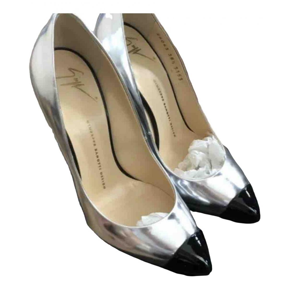 Giuseppe Zanotti \N Metallic Patent leather Heels for Women 38.5 EU