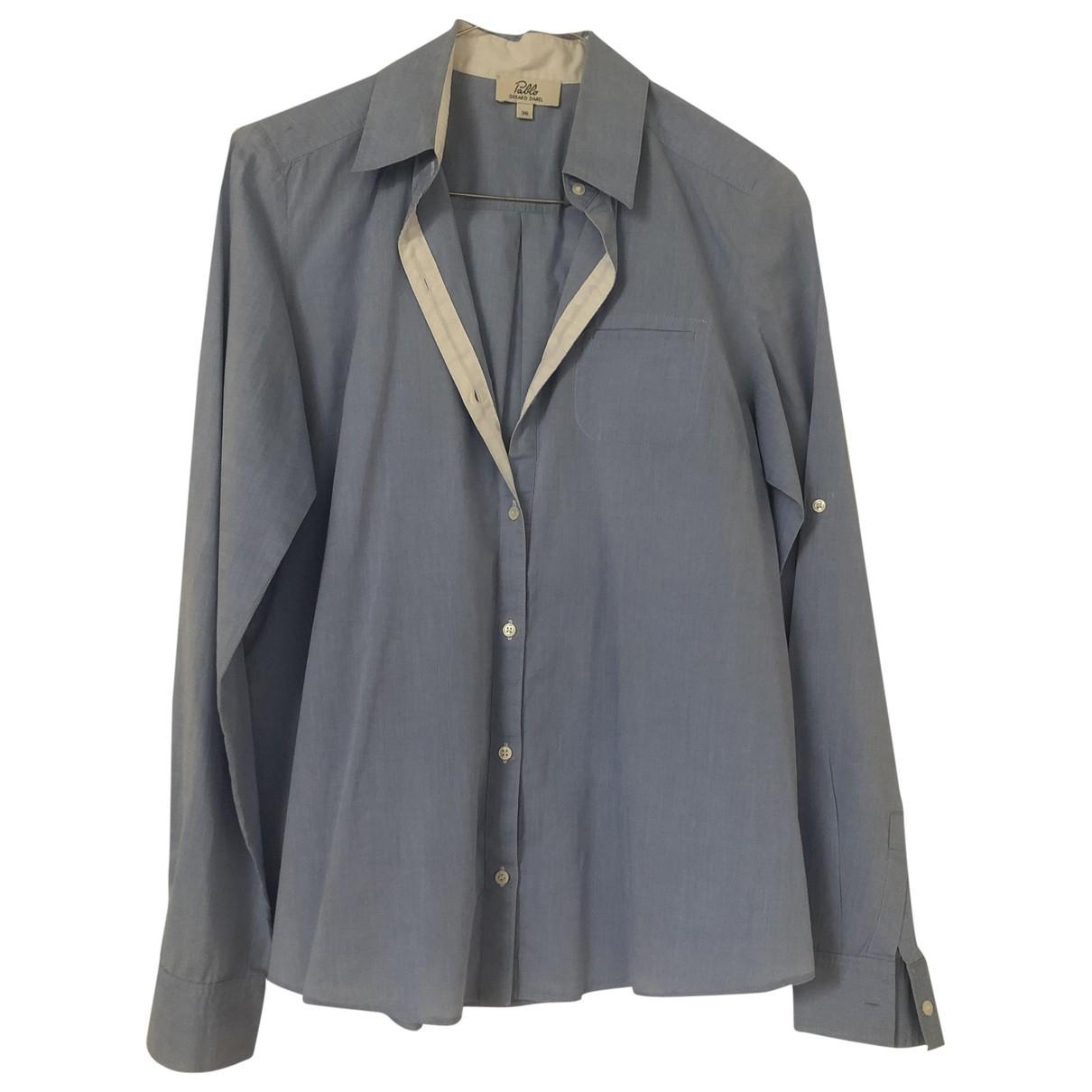Pablo \N Blue Cotton  top for Women 36 FR