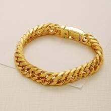 Men Metal Chain Bracelet
