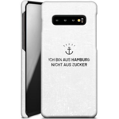 Samsung Galaxy S10 Plus Smartphone Huelle - Ich Bin Aus Hamburg von caseable Designs