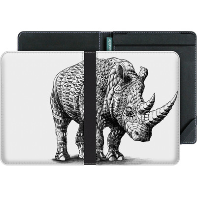 tolino vision 4 HD eBook Reader Huelle - Rhinoceros von BIOWORKZ