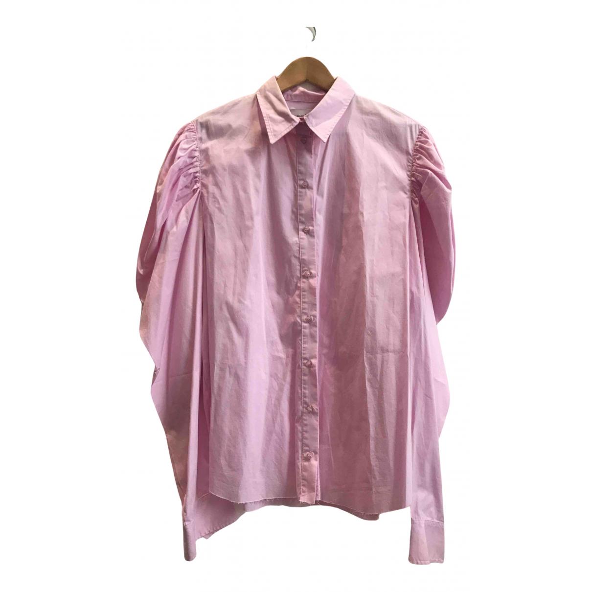 Marques Almeida - Top   pour femme en coton - rose