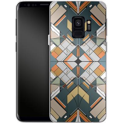 Samsung Galaxy S9 Silikon Handyhuelle - Mosaic I von caseable Designs