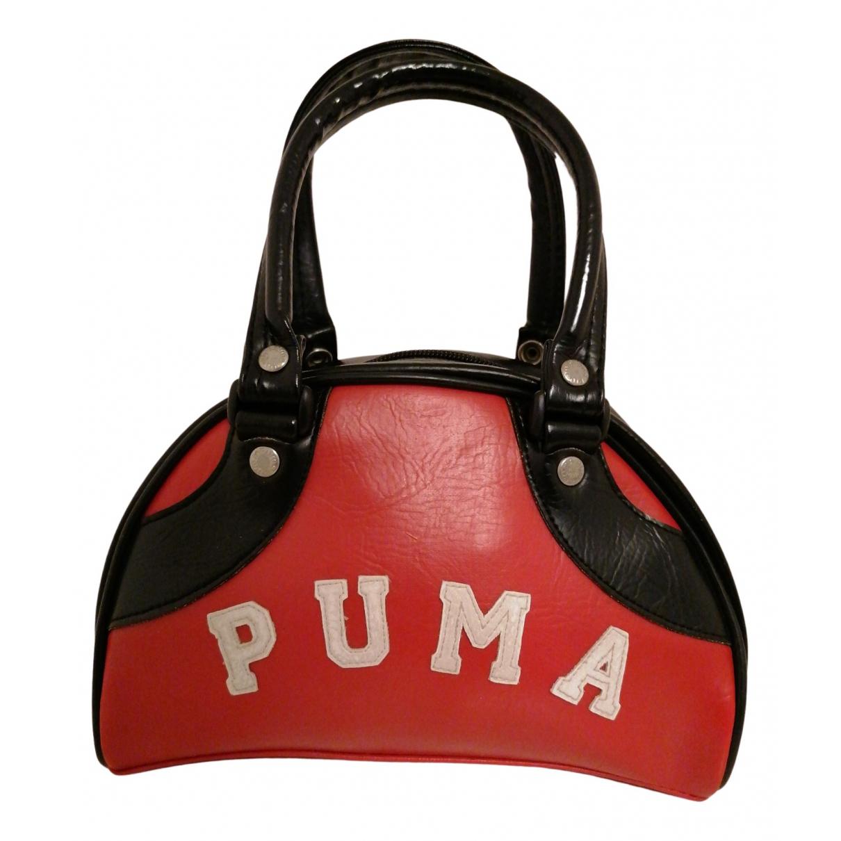 Puma \N Handtasche in  Rot Kunststoff
