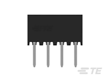 TE Connectivity , AMPMODU, 2314820 2mm Pitch 8 Way 2 Row Vertical PCB Socket, Through Hole, Solder Termination (65)