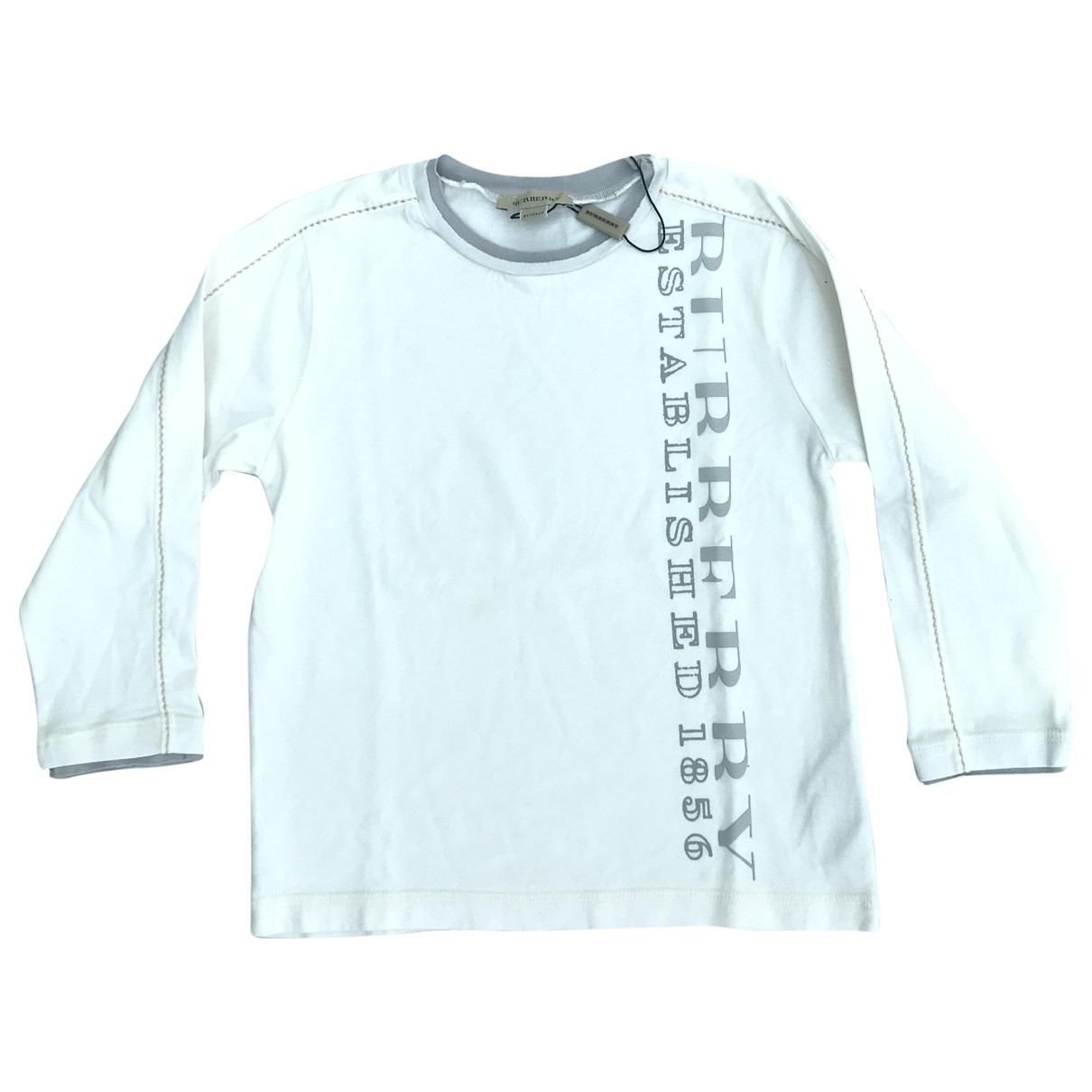 Burberry \N White Cotton Knitwear for Kids 4 years - up to 102cm FR