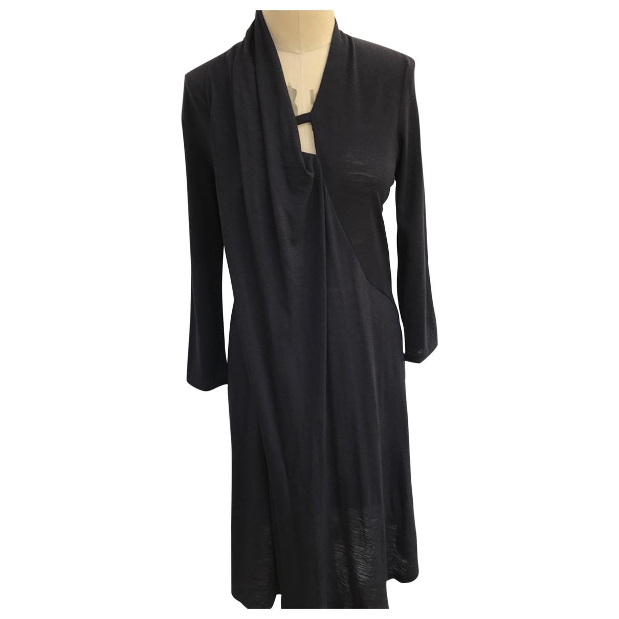Chalayan \N Navy Wool dress for Women XL International