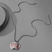Collar de hombres con poker
